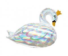 Μπαλόνι Φοιλ Κύκνος Iridescent Swan 73x55εκ.