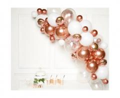 Σετ για γιρλάντα DIY ροζ χρυσό 66τεμ.