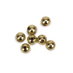 Πέρλα ακρυλική χρυσή 10mm 50γρ