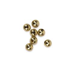 Πέρλα ακρυλική χρυσή 8mm 50γρ