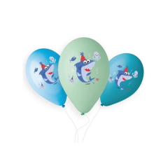Μπαλόνια Baby Shark 33εκ (5τεμ)