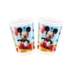 Ποτήρια πλαστικά Playful Mickey Disney 8τεμ