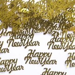 Χάρτινα κομφετί Happy New Year 4x2εκ