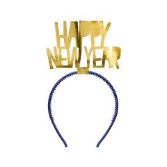 Στέκα Happy New Year χρυσό μεταλλιζέ