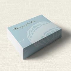 Κουτάκι Γάμου MyMastoras Carte Postale Balloon
