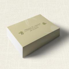Κουτάκι Γάμου MyMastoras Olive