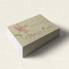 Κουτάκι Γάμου MyMastoras Postcard Lily