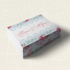 Κουτάκι Γάμου MyMastoras Roses Patern