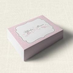 Κουτάκι Γάμου MyMastoras Polka Dots Letter