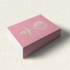 Κουτάκι Βάπτισης MyMastoras Pink Aerostat