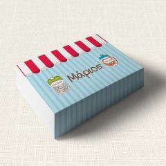 Κουτάκι Βάπτισης MyMastoras Candy Shop