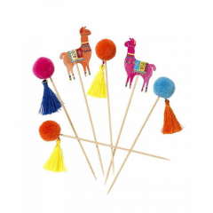 Pom Pom Sticks Boho Style Talking