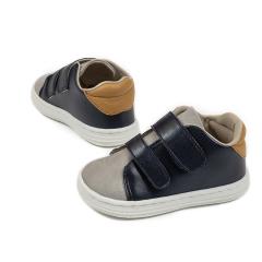 Δίχρωμο sneaker διπλή μπαρέτα χρατς Babywalker