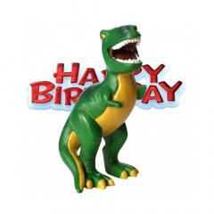 Διακοσμητικό τούρτας δεινόσαυρος 43mmX8cm