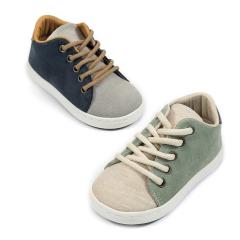 Δίχρωμα δετά sneaker Babywalker