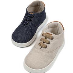 Υφασμάτινα δετά με κορδόνι sneaker Babywalker