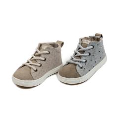 Υφασμάτινα δετά ημίμποτα sneakers Babywalker