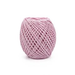 Κορδόνι χάρτινο ροζ 2mmΧ50μ