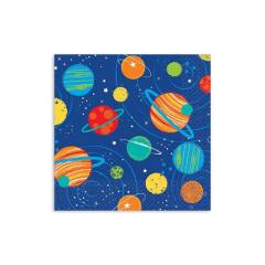 Χαρτοπετσέτες γλυκού ταξίδι στο διάστημα 33εκ 16τεμ