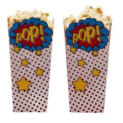 Χάρτινο κουτί Popcorn με θέμα Comic Superhero