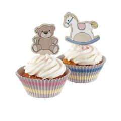 Cupcake kit Rock-a-bye baby