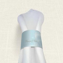 Δαχτυλίδι πετσέτας γάμου Carte Postale Balloon MyMastoras