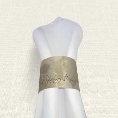Δαχτυλίδι πετσέτας γάμου Couple MyMastoras