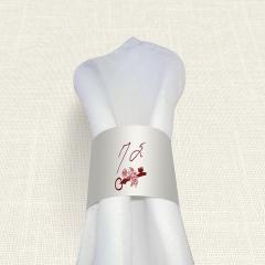 Δαχτυλίδι πετσέτας γάμου Key Life MyMastoras
