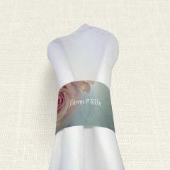 Δαχτυλίδι πετσέτας γάμου Old Roses MyMastoras