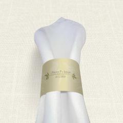 Δαχτυλίδι πετσέτας γάμου Olive MyMastoras