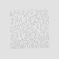 Δαντέλα κομμένη λευκή 14x14εκ 50τεμ