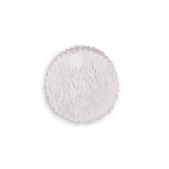 Στρογγυλό πανάκι δαντέλα λευκό 9εκ 50τεμ