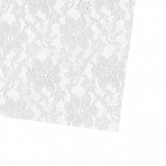 Δαντέλα τετράγωνη λευκή 36x36εκ 50τεμ