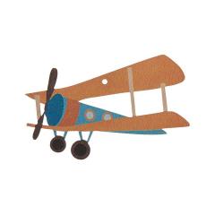 Αεροπλανάκι ξύλινο διακοσμητικό 22cm