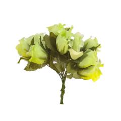 λουλουδάκια διακοσμητικά πράσινα 12τεμ
