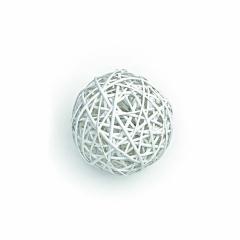 Διακοσμητική μπάλα από μπαμπού 15εκ