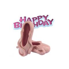 Διακοσμητικό τούρτας πουέντ και Happy Birthday