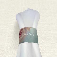 Δαχτυλίδι Πετσέτας Γάμου MyMastoras Old Roses