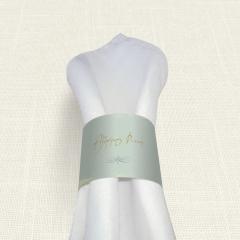 Δαχτυλίδι Πετσέτας Γάμου MyMastoras Watercolor Sky Gold