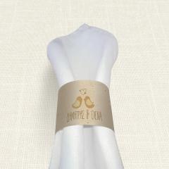 Δαχτυλίδι Πετσέτας Γάμου MyMastoras Calendar Birds