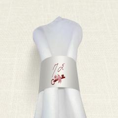 Δαχτυλίδι Πετσέτας Γάμου MyMastoras Key Life