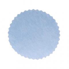 Πανάκια σιέλ στρογγυλό 12 5 εκ. διάμετρος/50τεμ