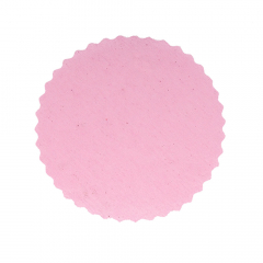 Πανάκια ροζ στρογγυλό 12 5 εκ. διάμετρος/50τεμ