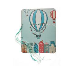 Βιβλίο ευχών τυπωμένο αερόστατα