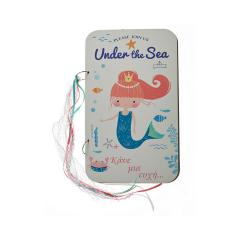 Βιβλίο ευχών τυπωμένο under the sea