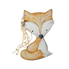 Βιβλίο ευχών ξύλινη αλεπού