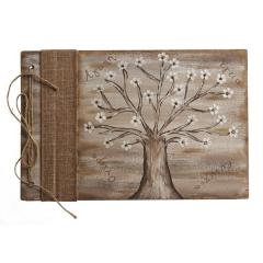 Βιβλίο ευχών με δέντρο