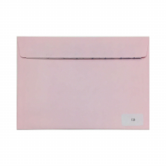 Ροζ με κλείσιμο καρέ 120gr 10τμχ