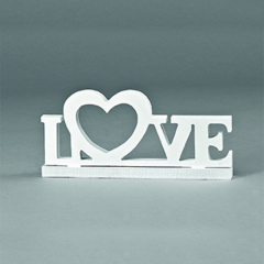Διακοσμητικό γάμου Love 30x14εκ