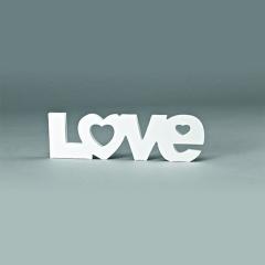 Διακοσμητικό γάμου Love 41x12εκ
